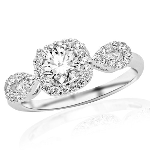 Square Cushion Cut Engagement Rings