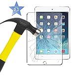Apple iPad Mini / Mini 2 / Mini 3 - Tempered Glass LCD Screen Protector Guard & Polishing Cloth