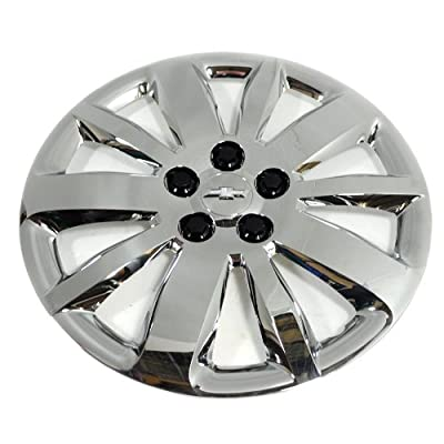 One (1) New OEM Chrome Upgrade 16 Inch Hubcap 20934135 Fit 2011-14 Chevy Cruze ONLY!
