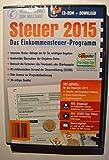 Software - Aldi Steuerprogramm Einkommenssteuer 2015 - Steuer CD