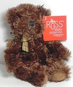 """Russ Berrie Taubin Bear 6"""" from russ berrie"""