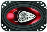 "BOSS AUDIO CH4630  Chaos Exxtreme 4"" x 6"" 3-way 250-watt  Full Range Speakers"