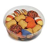 Barkworth Gourmet Halloween Dog Cookie Tub, 11-Ounce