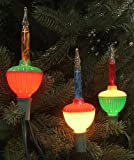 Pack of 3 Multi-Color C7 Bubble Light Replacement Christmas Bulbs