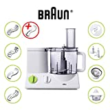 BRAUN FP3020 Food Processor With The Coarse Slicing Insert Blade Bundle - 2 items