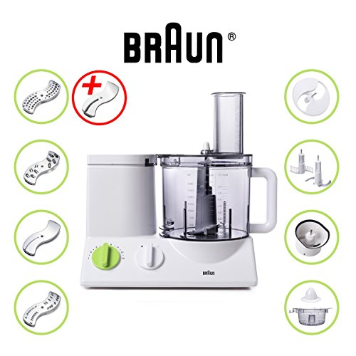 BRAUN FP3020 Food Processor With The Coarse Slicing Insert Blade Bundle - 2 items (Food Mixer With Bowel compare prices)