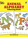 Animal Alphabet Coloring Book (Dover Coloring Books) (0486266982) by Nina Barbaresi