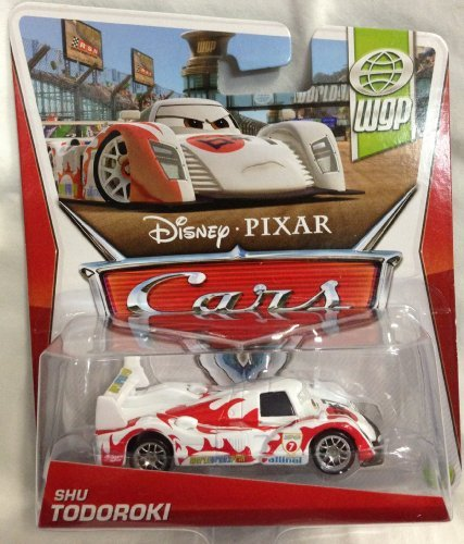Disney Pixar Cars 2013 WGP (World Grand Prix) Die-Cast Shu Todoroki #12/17 1:55 Scale