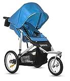 Joovy Zoom 360 Swivel Wheel Jogging Stroller, Blue