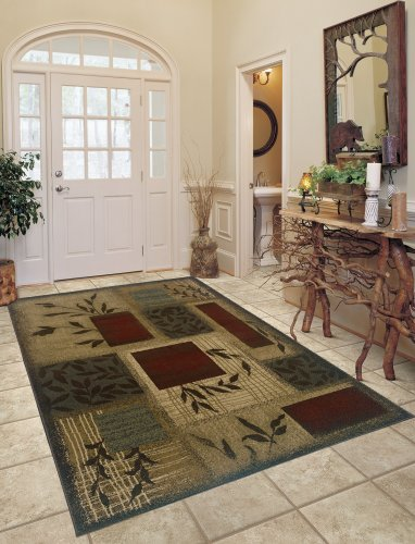 "2'6"" x 4'5"" Rectangular Oriental Weavers Sphinx AME-260X6 Beige/Red Color Machine Made Egyptian ""Amelia Collection"" Rug"