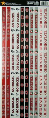 Sports Solution Ohio State Buckeyes Border Sticker