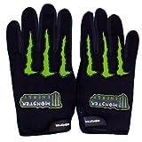 New Monster Bike /Car Hand Gloves Designed For Comfort Driving Black Xl