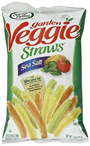 Sensible Portions Veggie Straws Sea Salt 5 Ounce