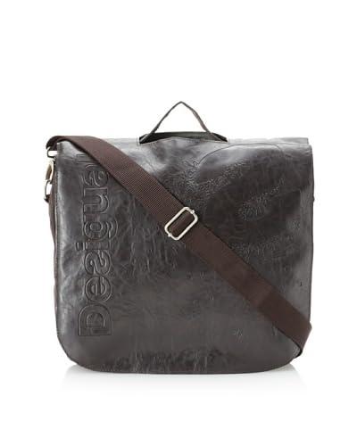 Desigual Women's Meletin Messenger Bag, Fresh Chocolate