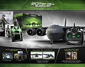 Tom Clancy's Splinter Cell Blacklist Paladin Multi-Mission Aircraft Edition - Playstation 3 (Collector's)