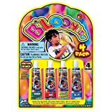 B'Loonies, 1 Piece which included 4 Straws and 4 Colors, 2011 Ja-Ru, Inc.