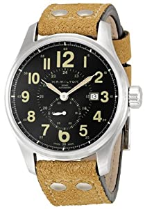 Hamilton Men's H70655733 Khaki Officer GMT Watch