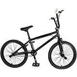 KHE Bikes Evo 0.F Freestyle BMX Bicycles, Black