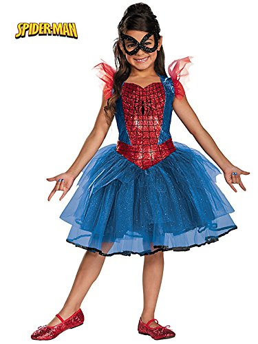 Disguise Marvel Spider-Girl Tutu Prestige Girls Costume