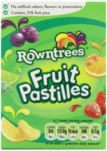 Rowntree's Fruit Pastilles Carton (Pack of 9)
