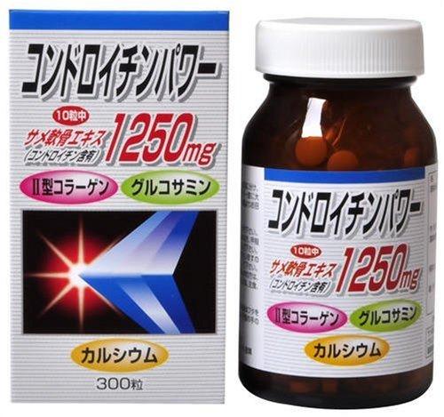 ユウキ製薬 コンドロイチンパワー 300粒