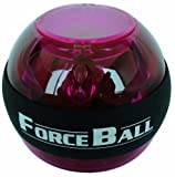 Force Ball Power Gyro Wrist Multicolor Ball (Purple)