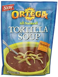 B&G Foods Ortega Chipotle Tortilla Soup Mix, 5.3-Ounce (Pack of 6)