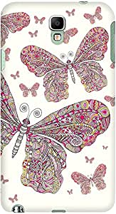 DailyObjects Butterfly Dance Case For Samsung Galaxy Note 3 Neo