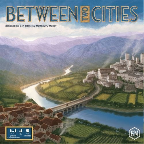 Between Two Cities Board Game (Euphoria Board Game compare prices)