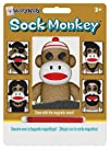 Smethport Sock Monkey Wooly Willy Toy