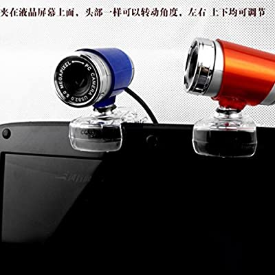 Imported USB2.0 1.3MP HD Webcam Web Cam Camera 360 Degree for Computer Laptop PC Red