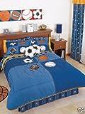 Balls Soccer Comforter Bedding Set Twin
