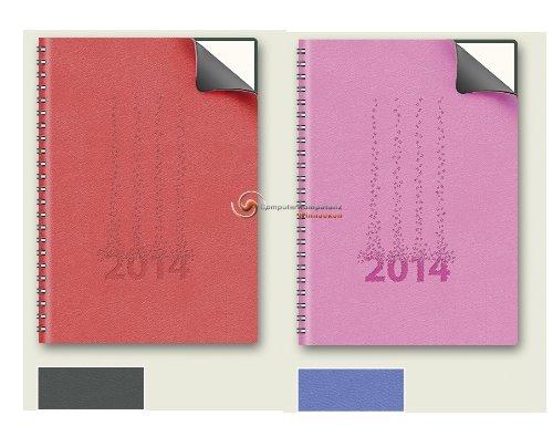 Brunnen Buchkalender 2014 Kunstleder Timing1 Spiralbindung A5 14,8x21 Kalender 2014