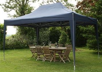 airwave pop up pavillon 4 5 x 3 m blau us258. Black Bedroom Furniture Sets. Home Design Ideas