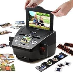 3-in-1 Digital Photo / Negative Films / Slides Scanner with built-in 2.4