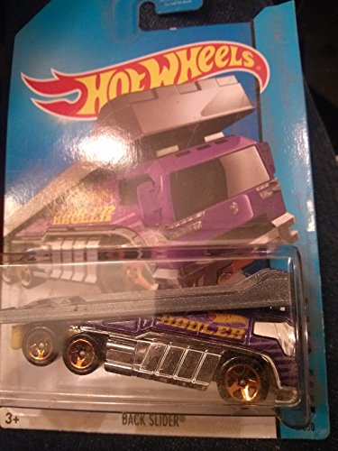 Hot Wheels Hw City Back Slider 2/250 Purple - 1
