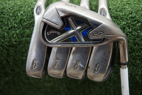 Callaway X-22 Right-Handed Iron Set Steel Uniflex (Callaway X22 Irons compare prices)