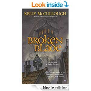 "Kelly McCullough ""Broken Blade"" Kindle eBook"