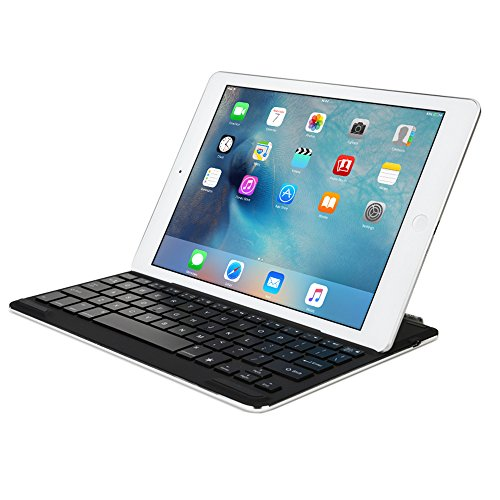 Cooper Cases(TM) Firefly Apple iPad Air 2バックライトキーボードドック(選べる7色のバックライト、自動スリープ/ウェイク機能、軽量&スリム、スマートマグネットアタッチメント)