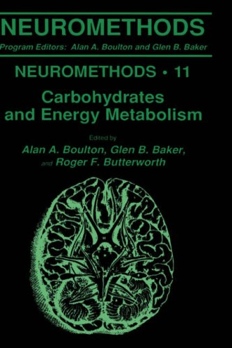 Carbohydrates and Energy Metabolism (Neuromethods)