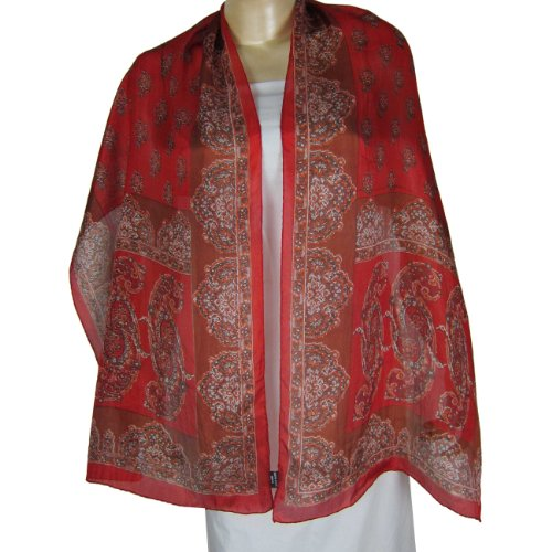 Fast Fashion Gifts For Women Clothes From IndiaWomenWrapScarf Printed Rectangular 55 cm x 182 cm