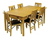 Mission Style Expanding Dining Table Finish: Oak