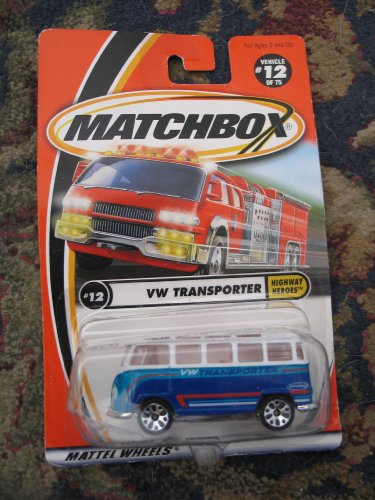 Matchbox Highway Heroes VW Transporter #12 - 1
