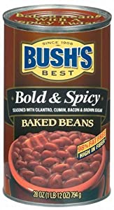 Bushs Best Baked Beans Bold Spicy - 12 Pack