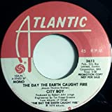 the day the earth caught fire / mono 45 rpm single