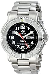 Reactor Men's Stainless Steel Trident Watch (59001)