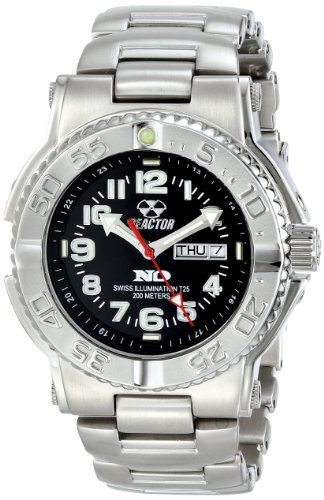 REACTOR Watches free shipping sale price: Reactor Men's Stainless Steel Trident Watch (59001)