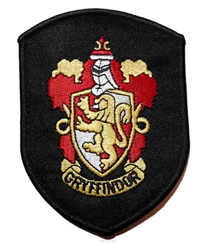 Main Street 24/7 casa di Harry Potter, Gryffindor-Accappatoio con Logo Patch