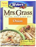 Mrs. Grass Recipe Soup & Dip Mix, Onion, 2 Ounce (Pack of 12)