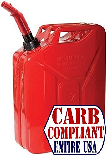 WEDCO 5 GALLON JERRY CAN (GAS) - The Original Jerry Can (CARB compliant all 50 states)